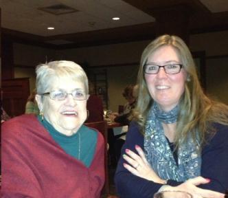 Dr. Mary Kamienski and daughter Dodi