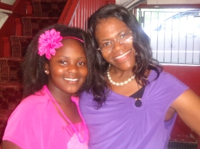 Michele and daughter Kayla